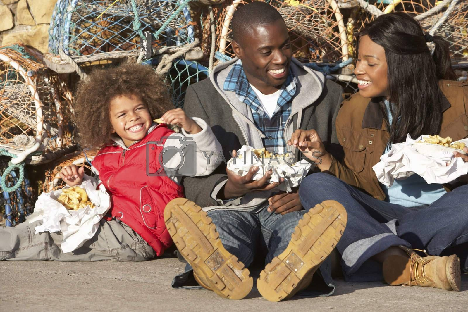 Royalty free image of Happy family having picnic by omg_images