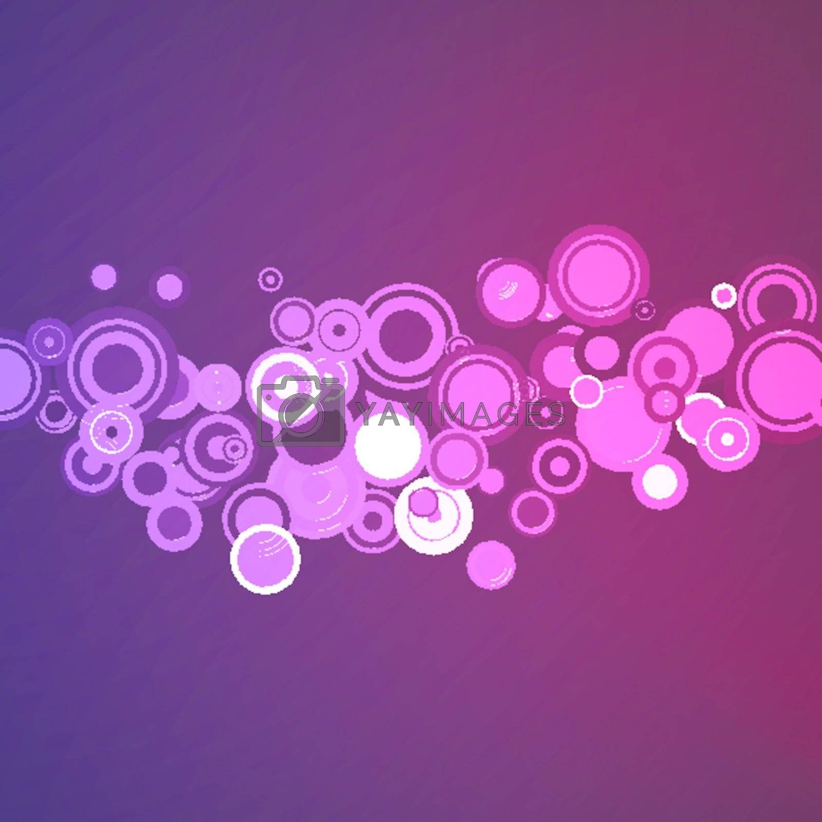 vector abstract background with circles EPS 10 vector file included