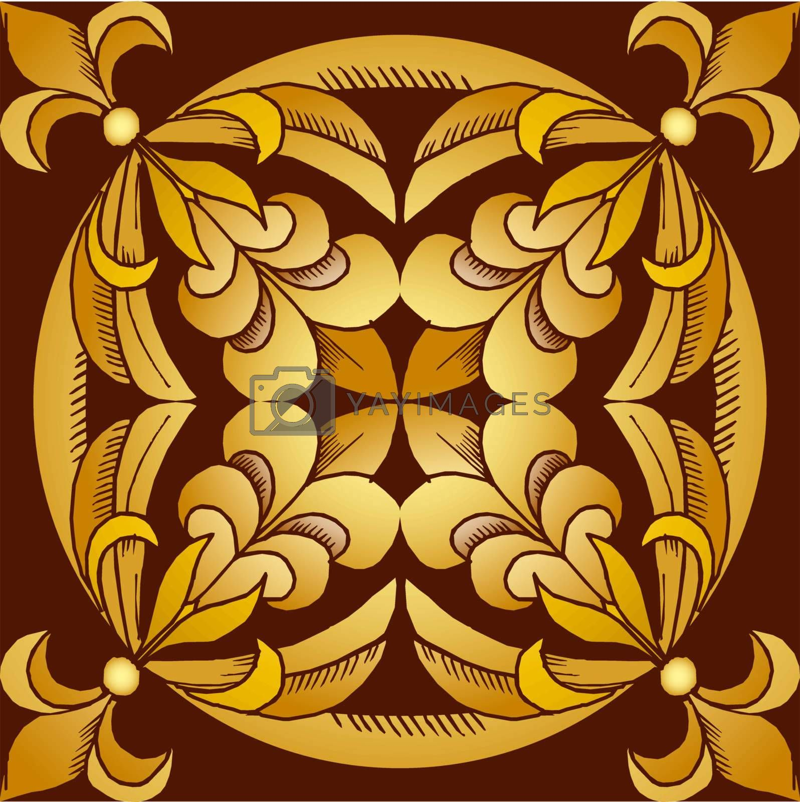 Seamless Ancient Background  EPS 10 vector file included