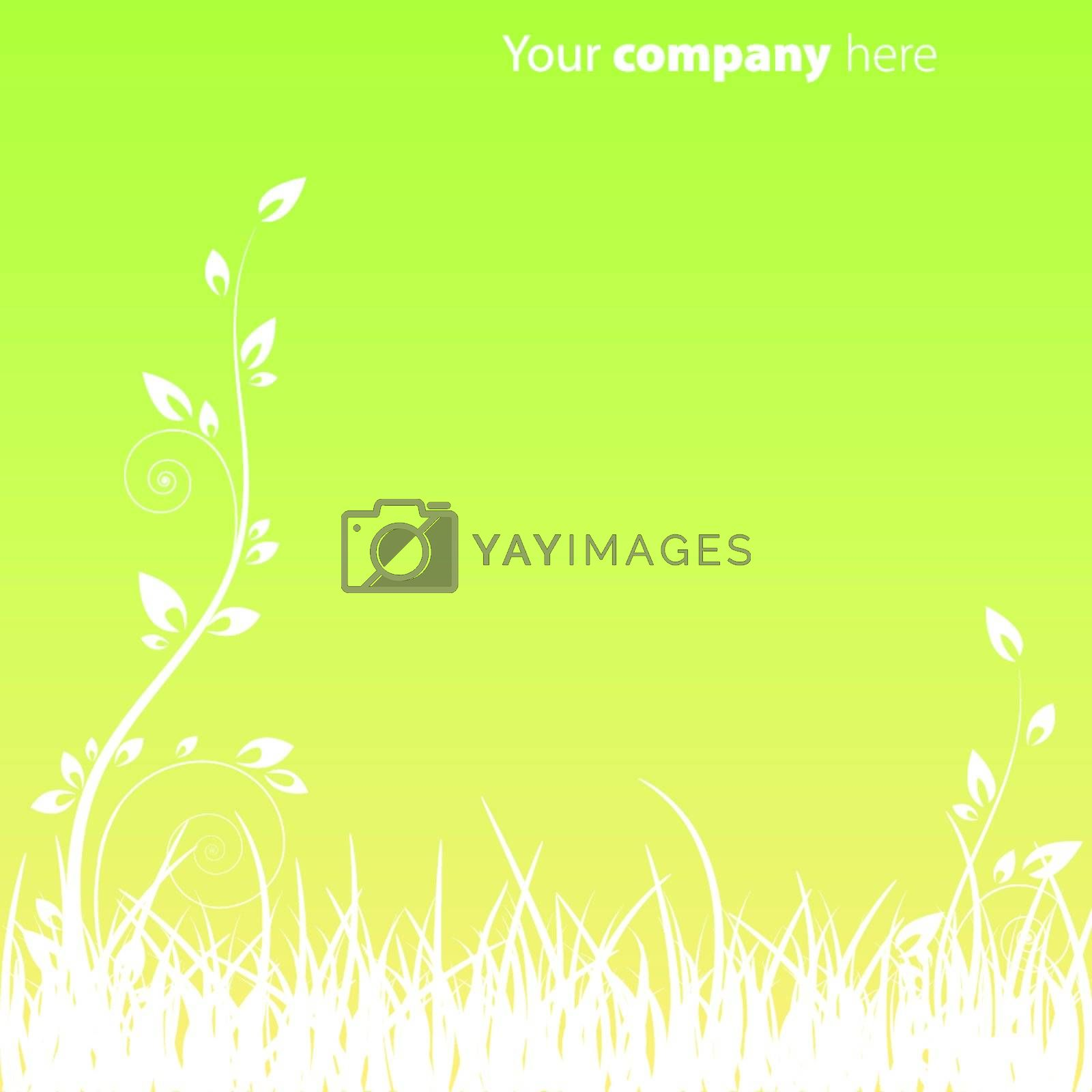 Garden Background EPS 10 vector file included