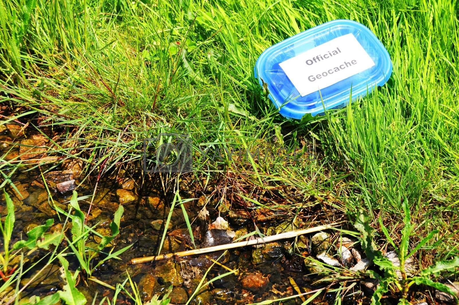 Royalty free image of geocache by gunnar3000