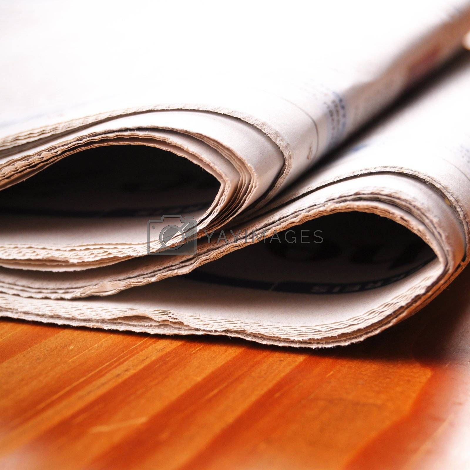 Royalty free image of newspapers by gunnar3000