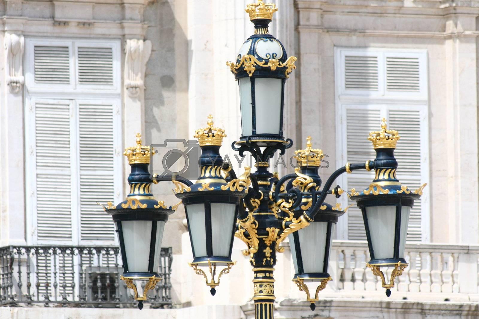 Royalty free image of Madrid - Royal Palace  by Maridav