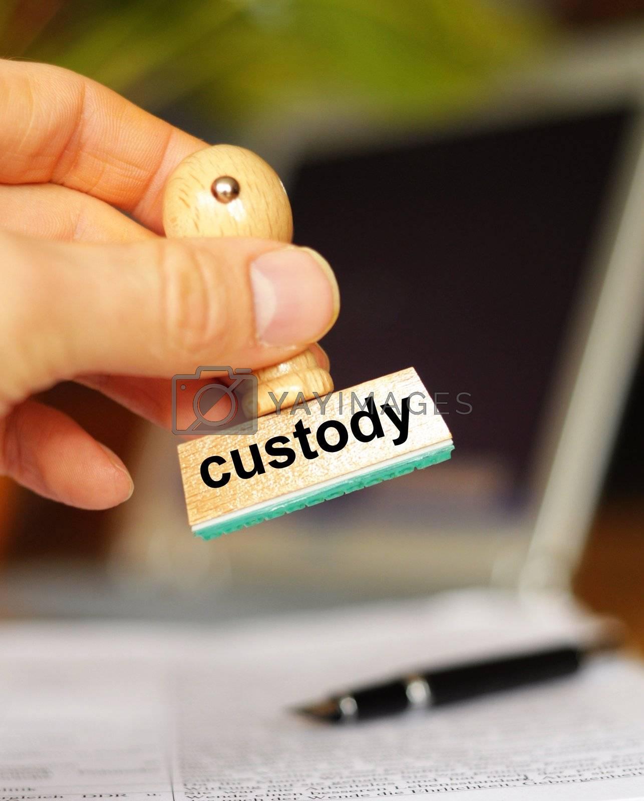 Royalty free image of custody by gunnar3000