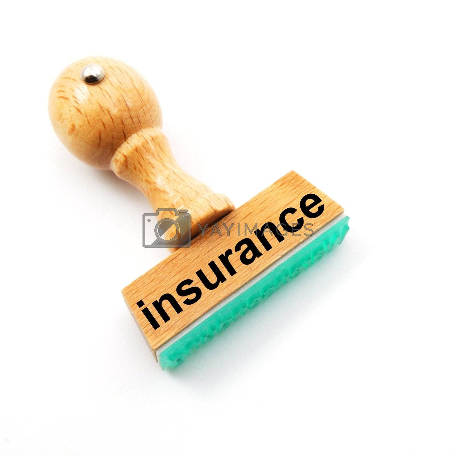 Royalty free image of insurance by gunnar3000