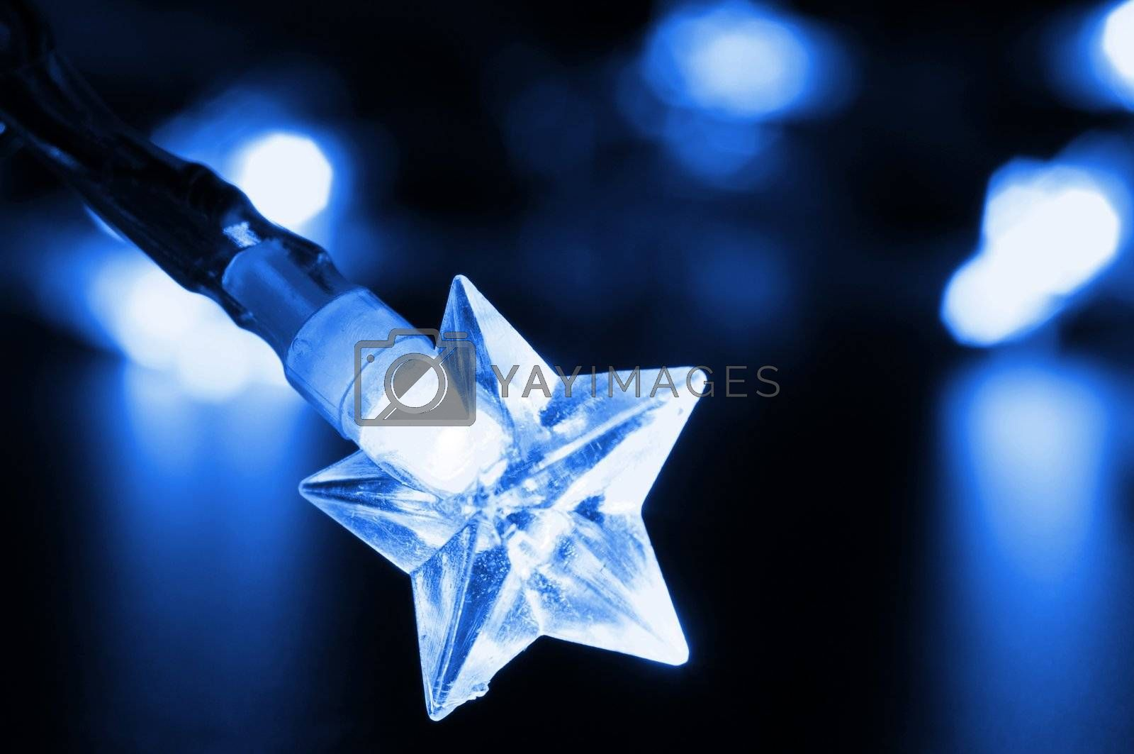 Royalty free image of christmas lights by gunnar3000