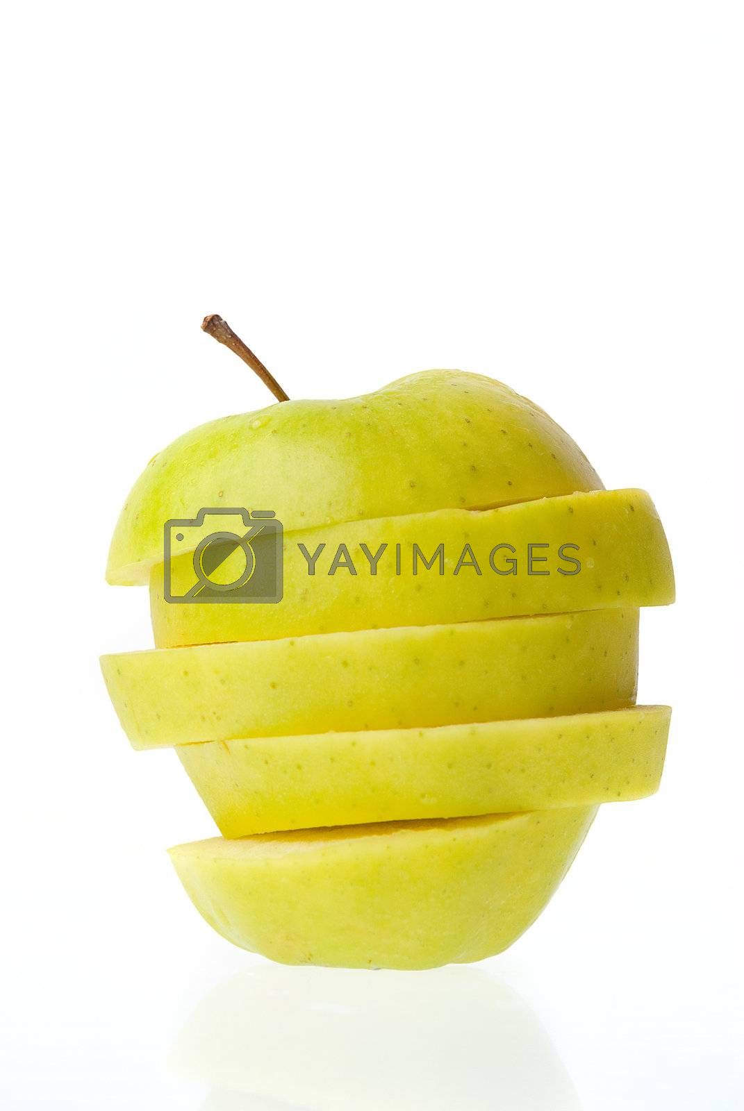 Royalty free image of Sliced apple  by homydesign