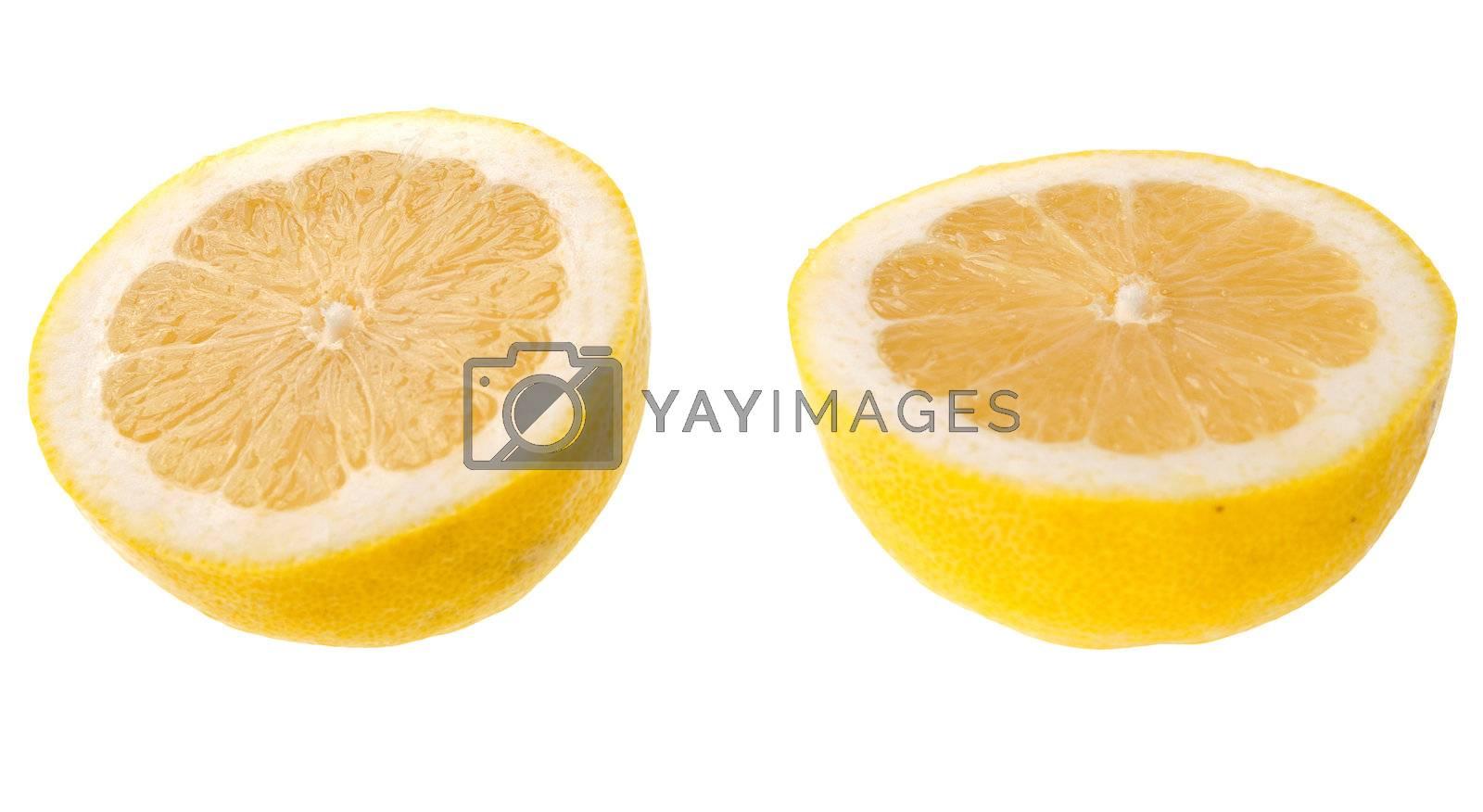 Royalty free image of Cut lemon by homydesign