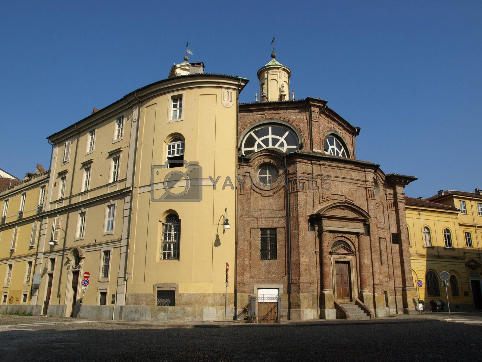 Royalty free image of San Michele Church, Turin by claudiodivizia