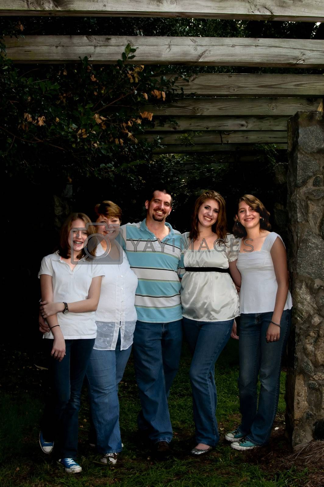 Royalty free image of Family by robeo