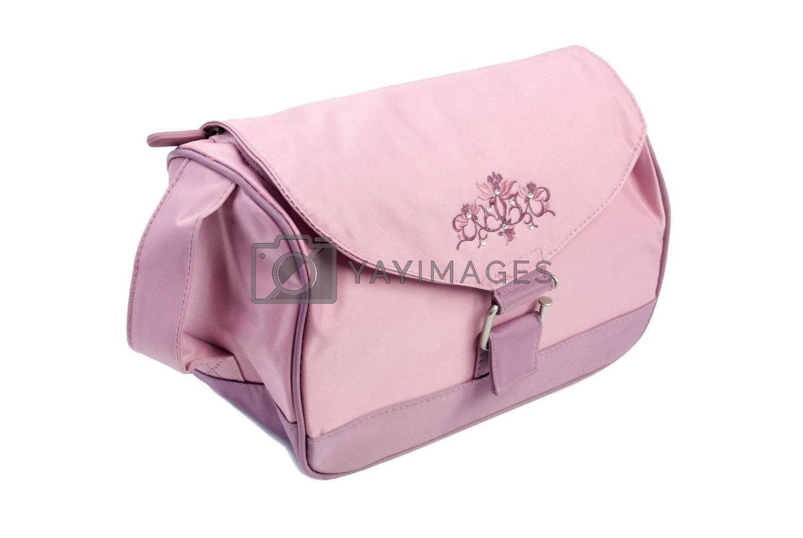 Royalty free image of Make-up bag   Isolated by zakaz