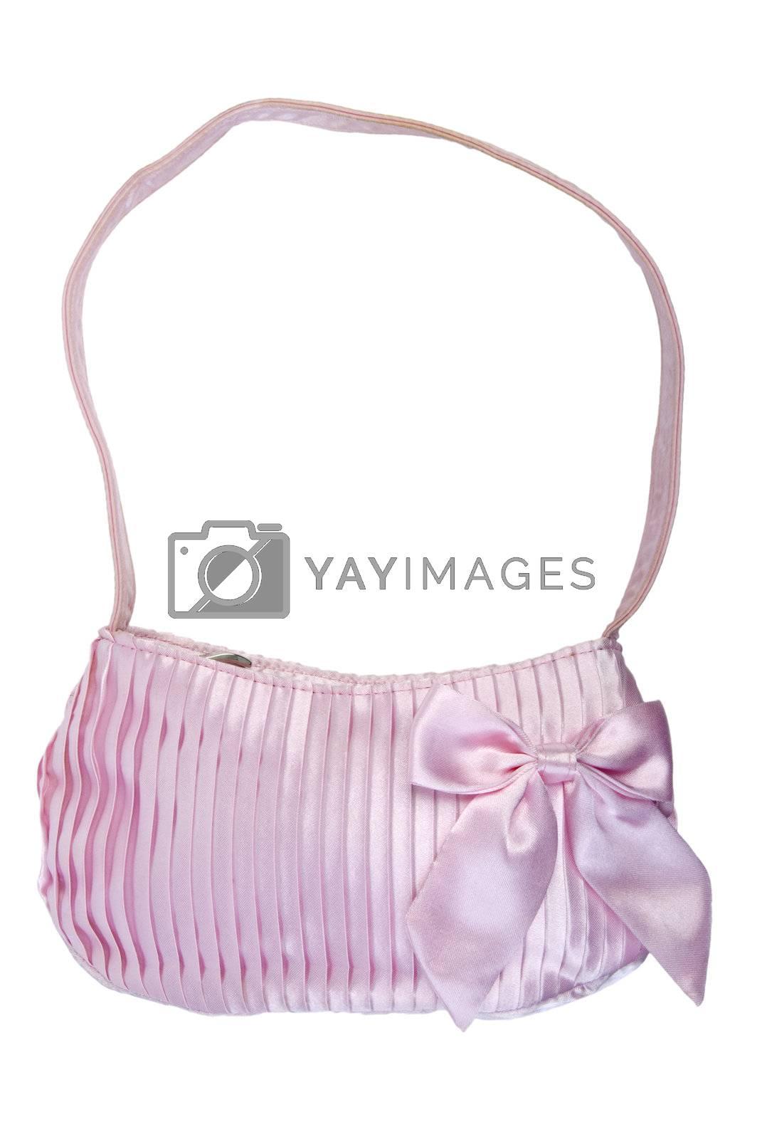 Royalty free image of Pink handbag   Isolated by zakaz