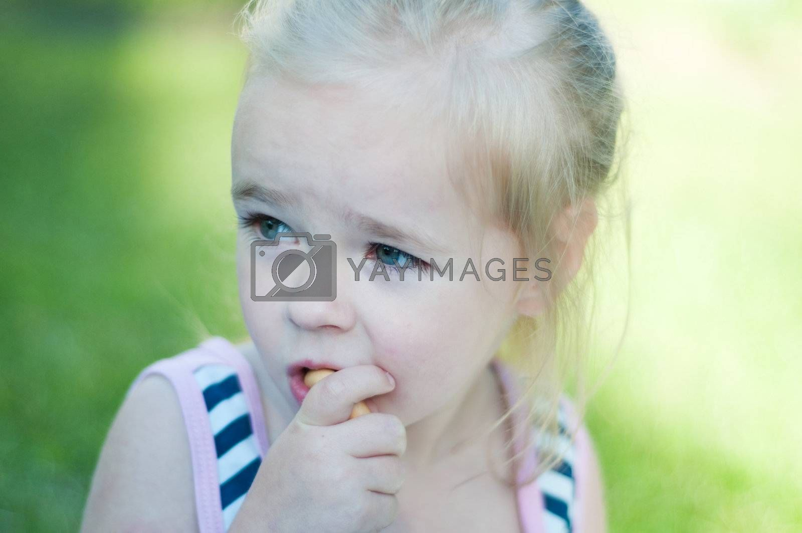 Royalty free image of Little girl by anytka