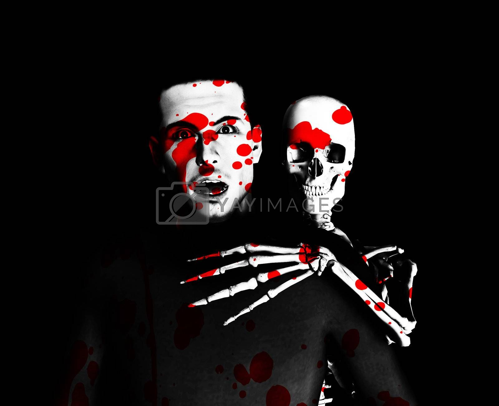 Royalty free image of Bloody Halloween Time by harveysart