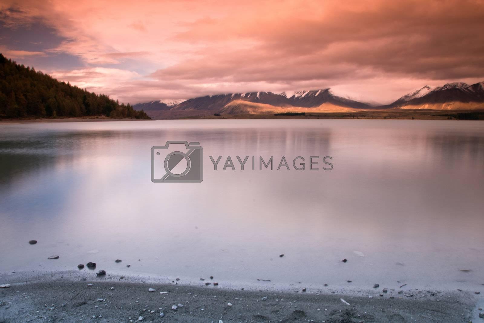Royalty free image of Lake Tekapo by urmoments