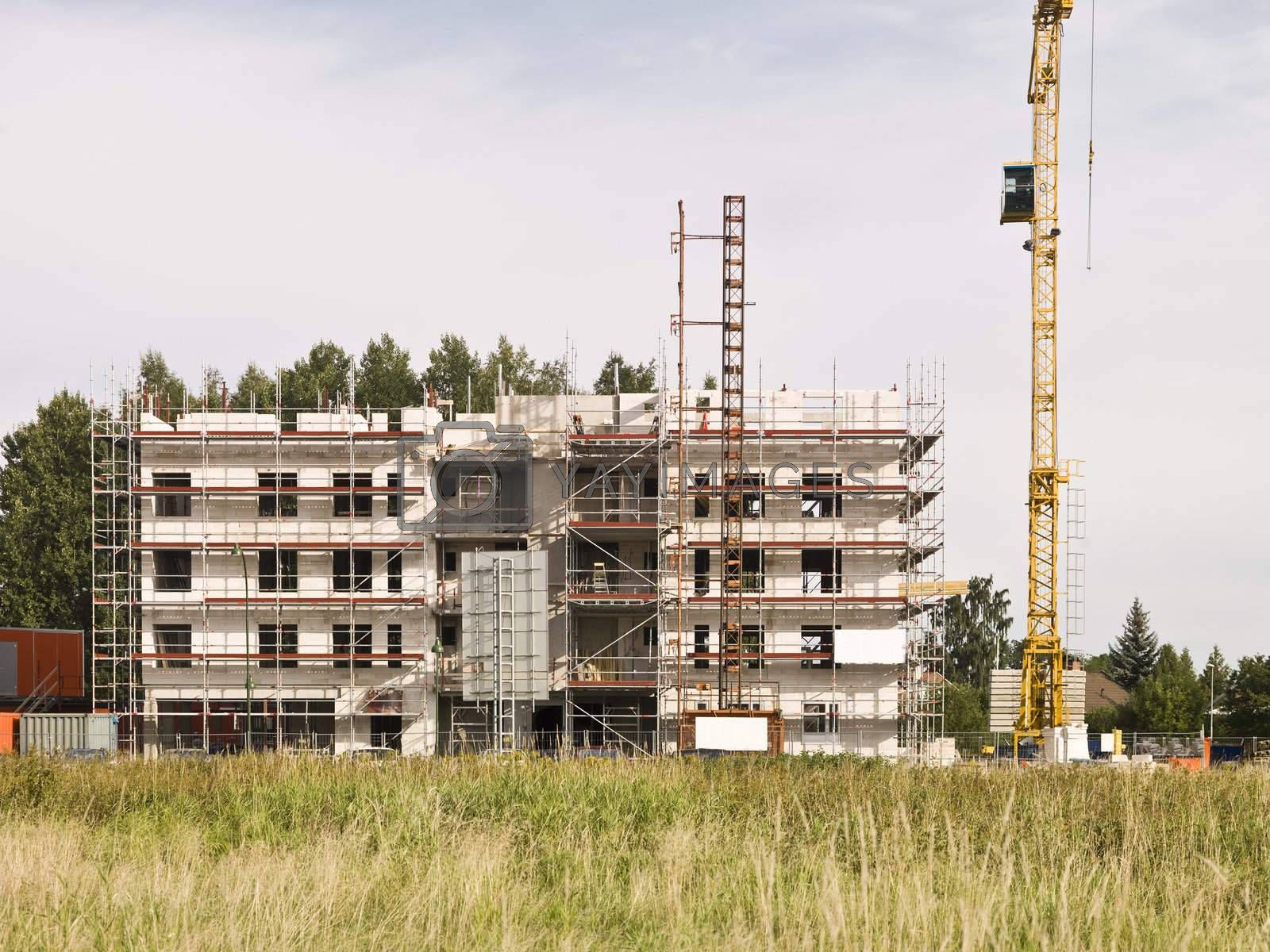Royalty free image of Building Site by gemenacom