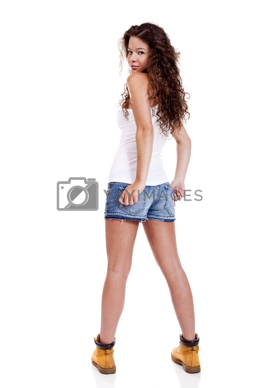 Royalty free image of Beautiful young woman by Iko