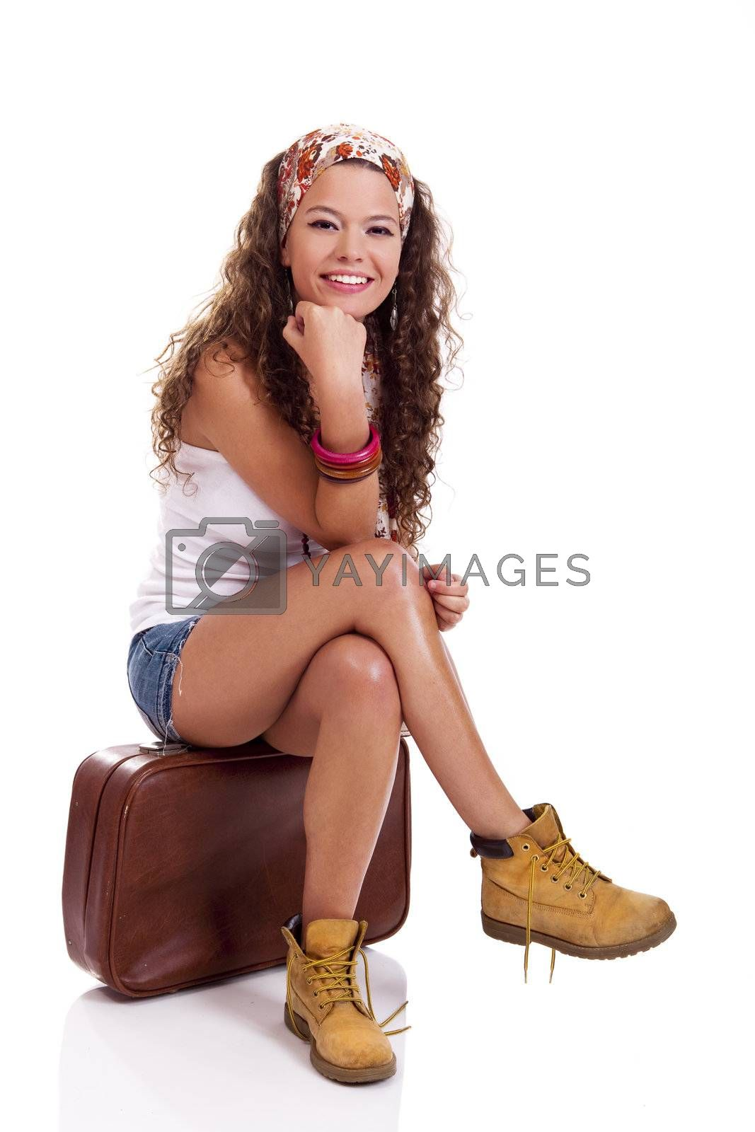Royalty free image of Fashion woman by Iko