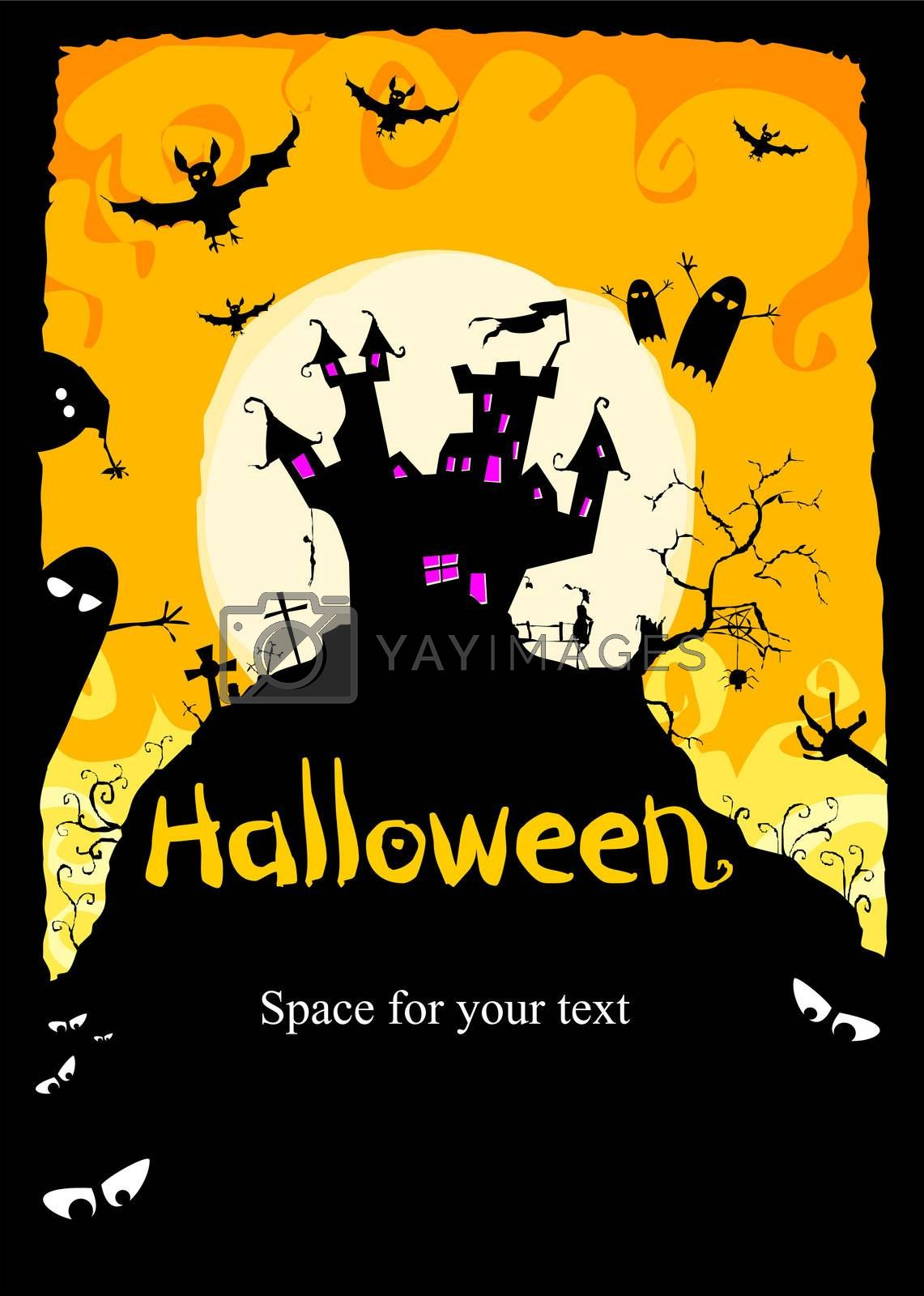 Royalty free image of halloween by magann