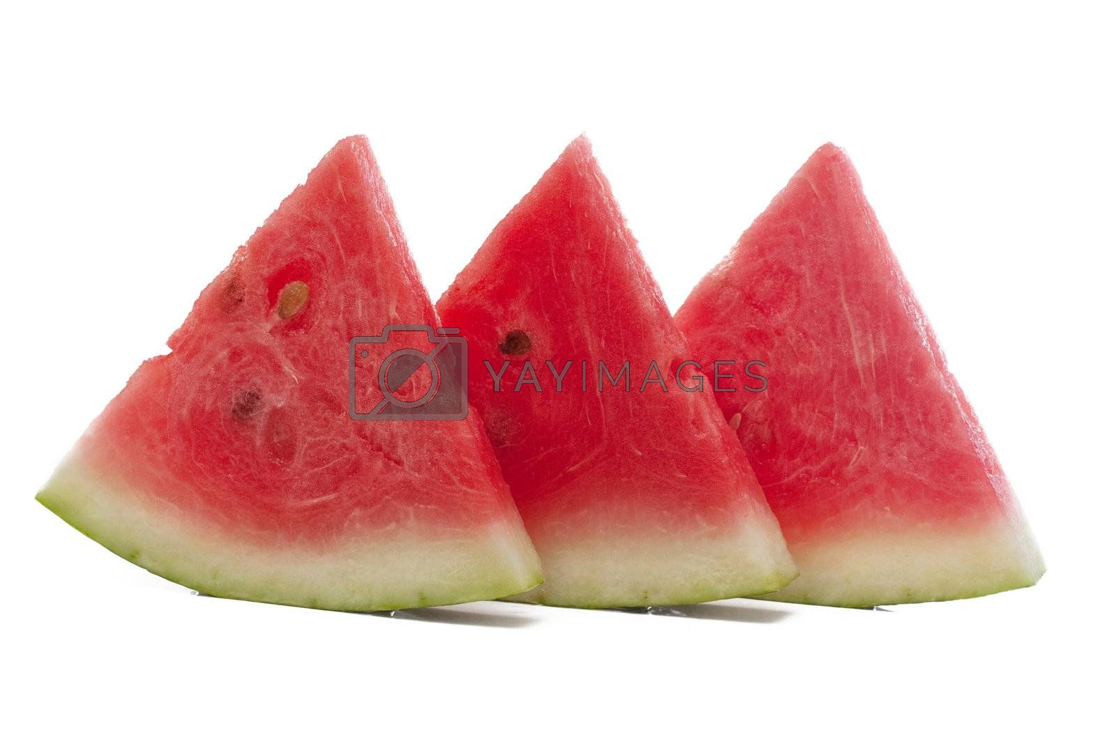 Royalty free image of Fresh slices of watermelon by AGorohov
