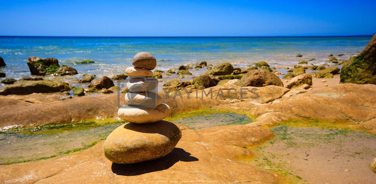 Royalty free image of stone collection by anobis