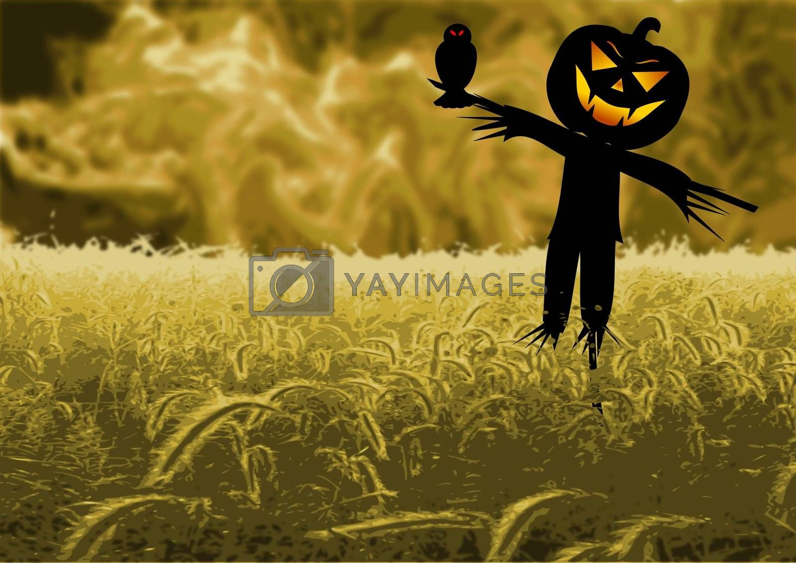Royalty free image of Scare Crow by jasony00