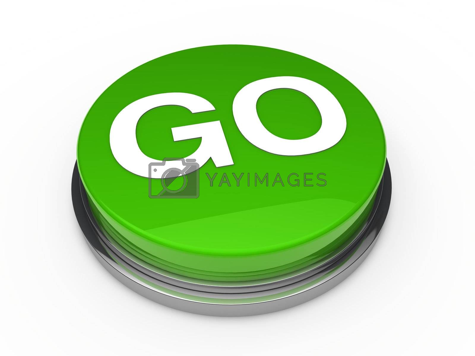 Go green Button | Funny buttons, Custom buttons, Badge