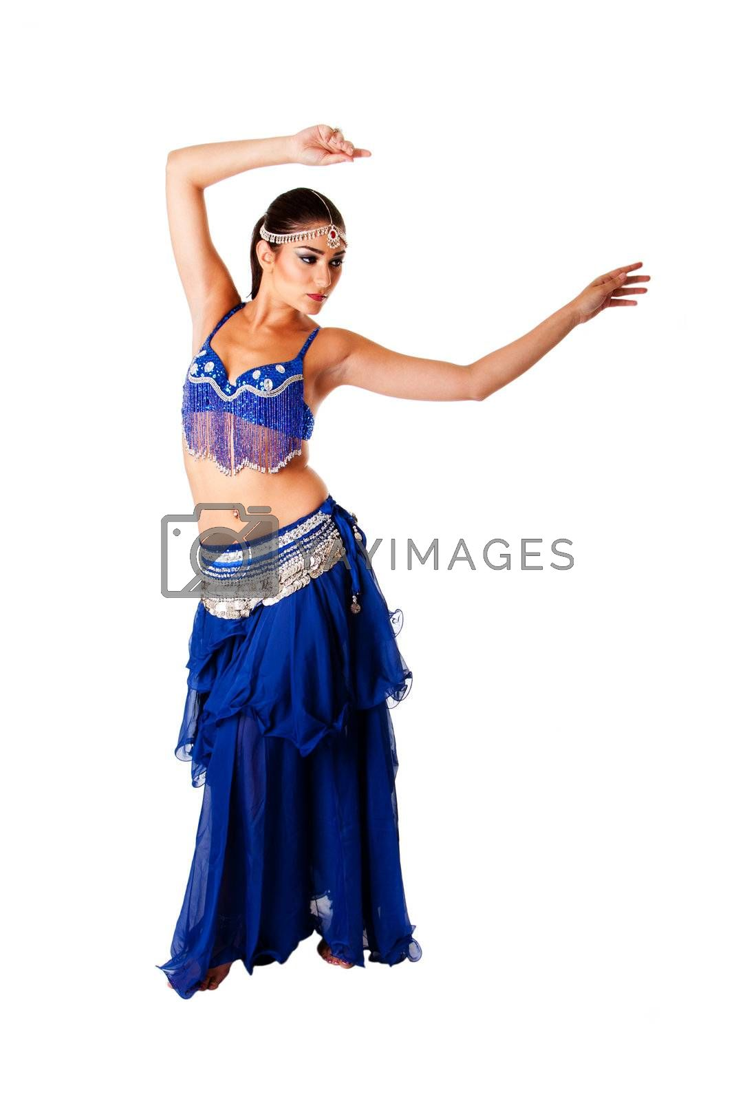 Arabic belly dancer by phakimata