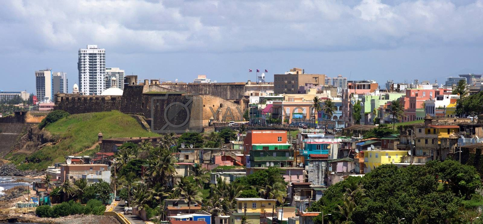 Old San Juan Coast by graficallyminded