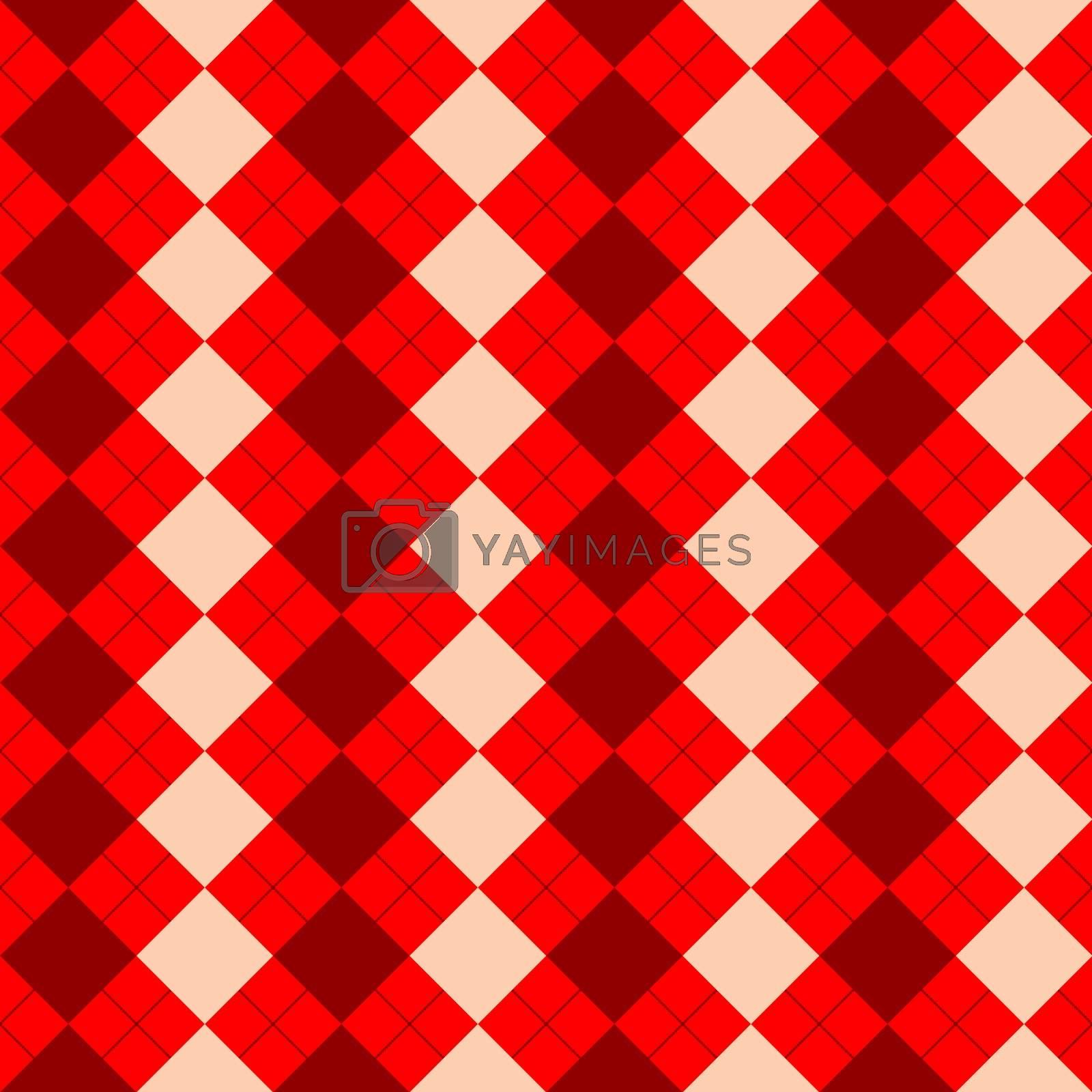 sweater texture mixed red texture, vector art illustration