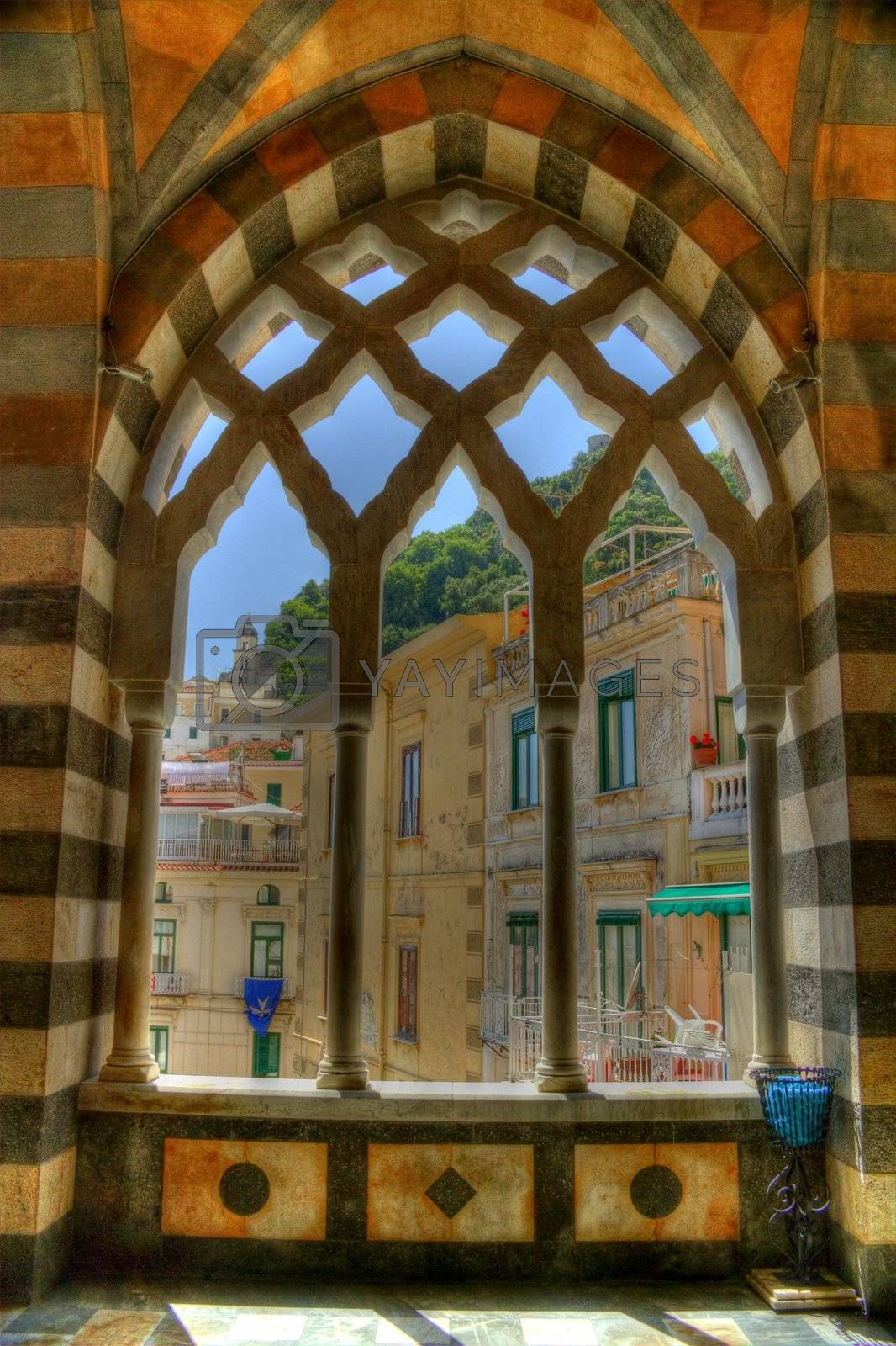 Royalty free image of Church Arches by jasony00