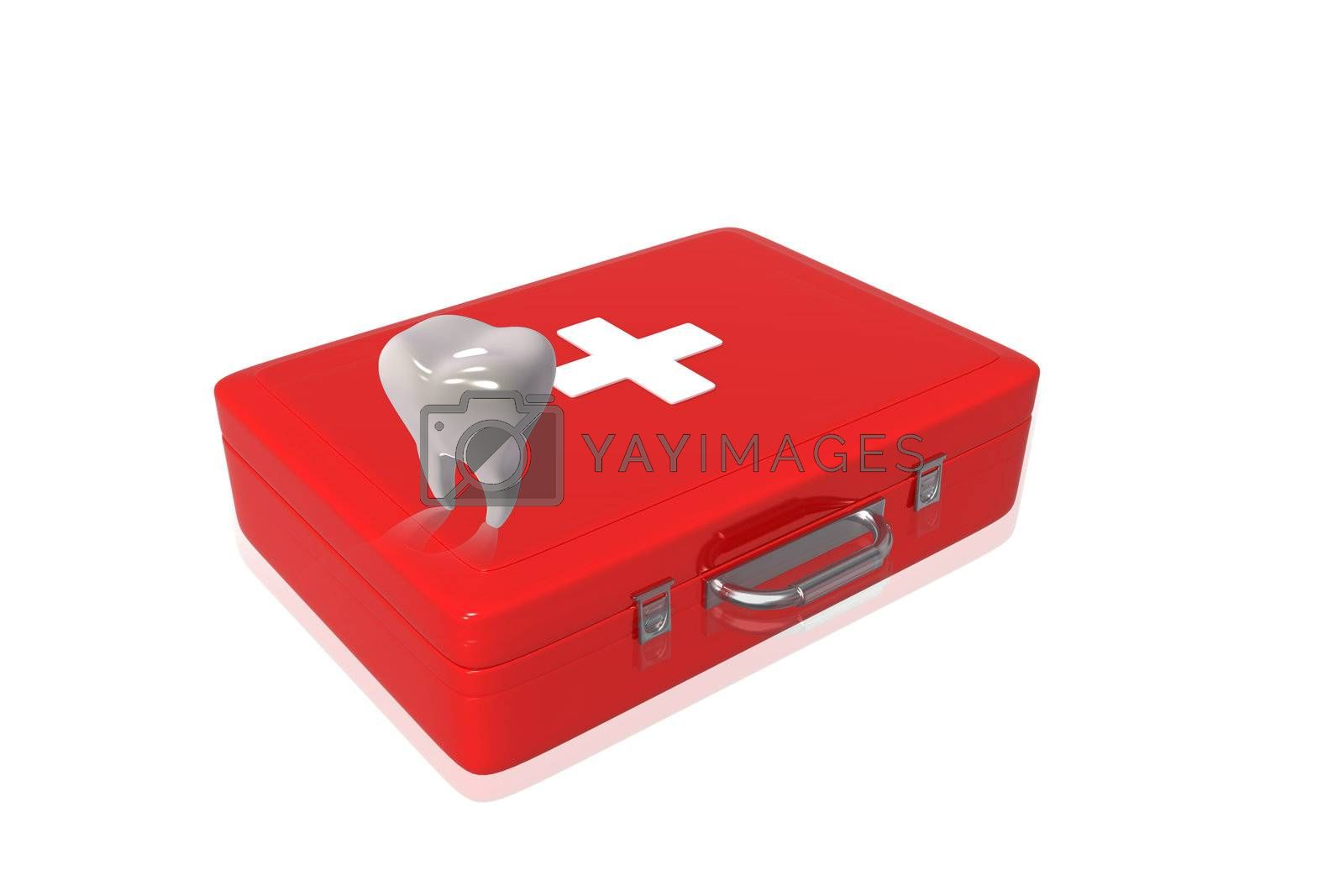 First aid box and Teeth