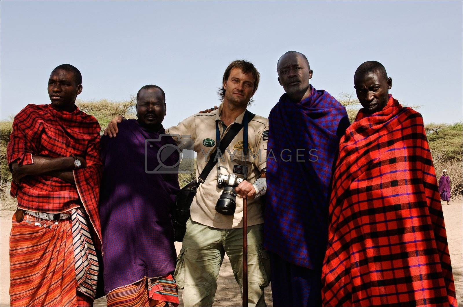 The Maasai (also Masai) are a Nilotic ethnic group of semi-nomadic people located in Kenya and northern Tanzania.