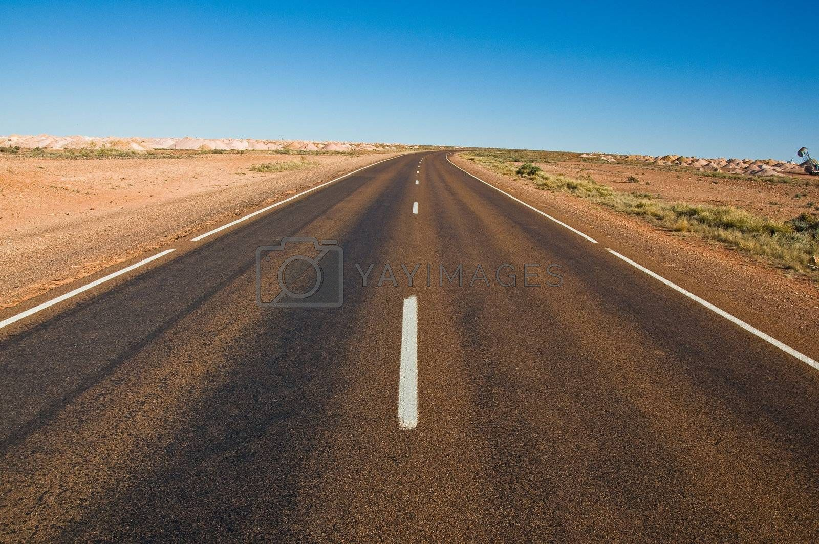 the wide land of australian outback, south australia
