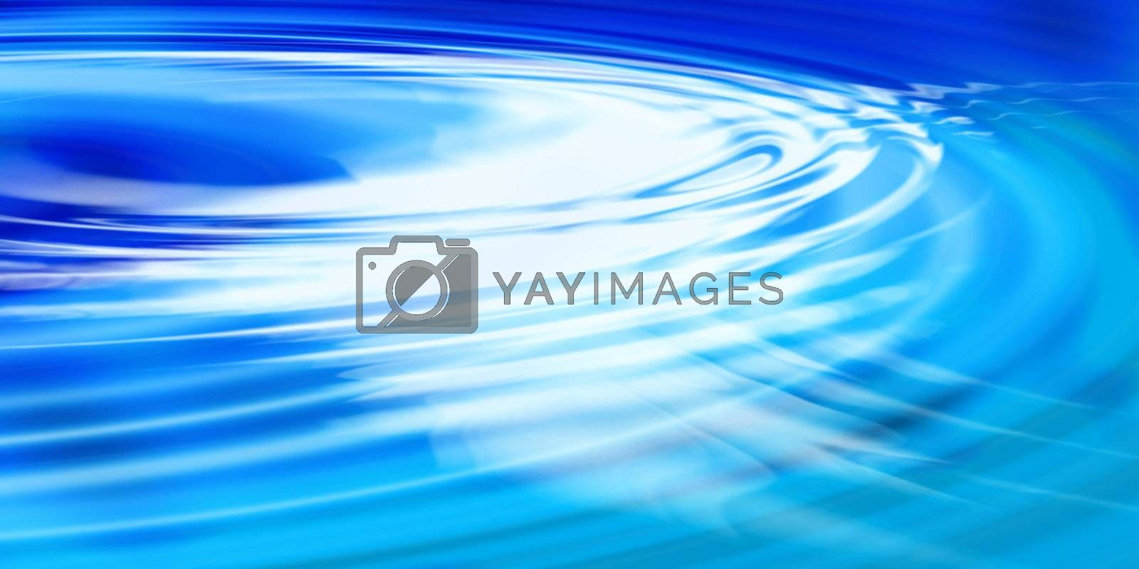 Aqua colored water ripples background.