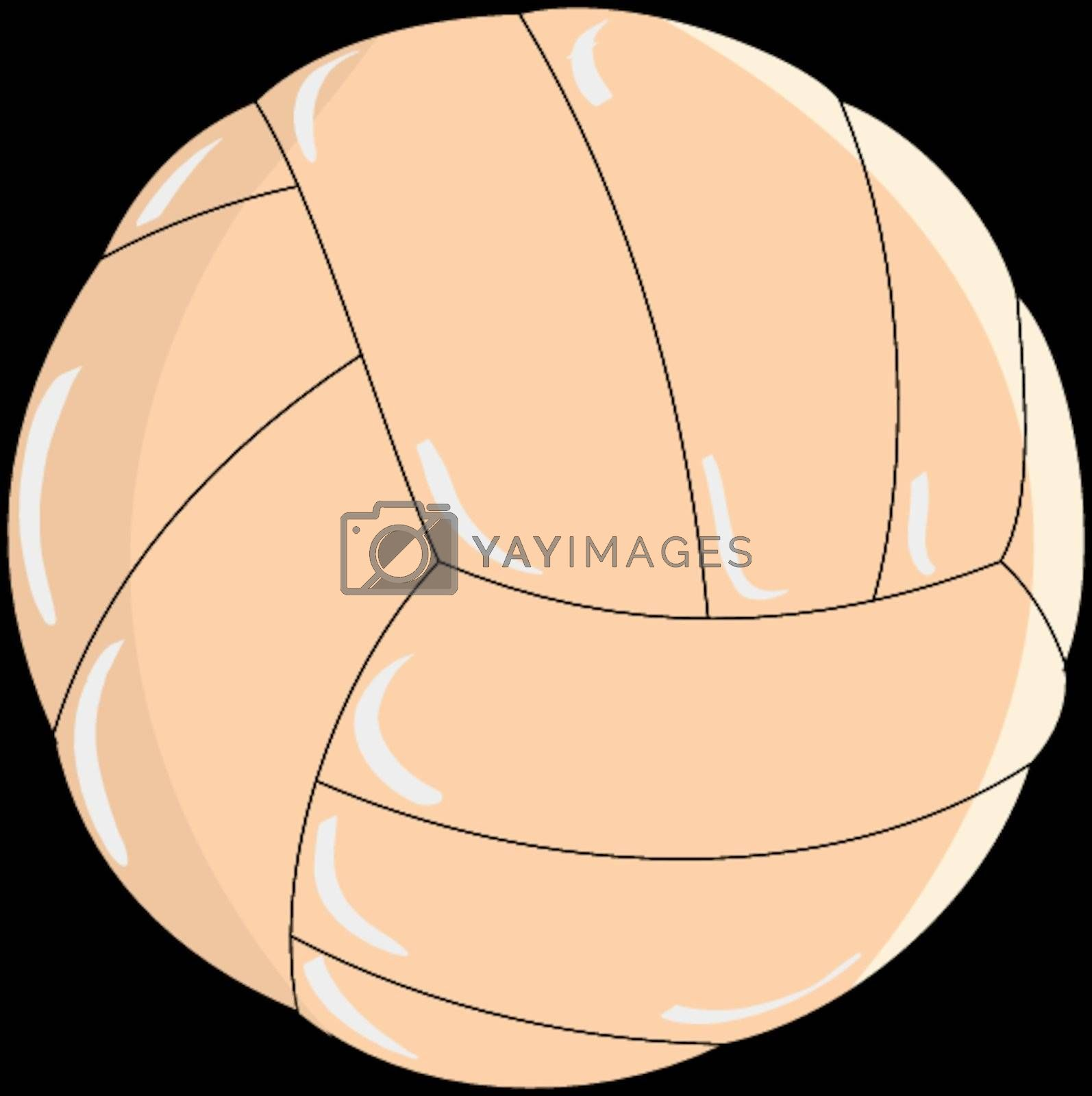 Royalty free image of Volleyball ball by Perysty