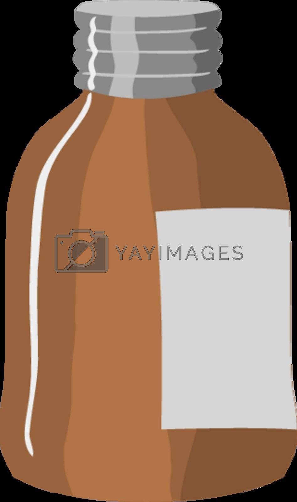 Royalty free image of Medicine bottle by Perysty