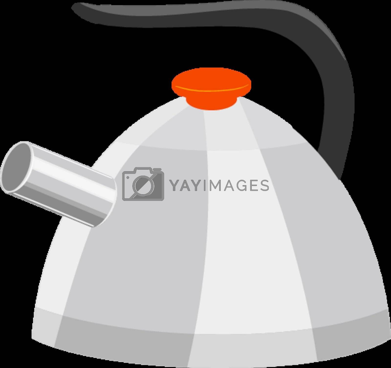 Royalty free image of Tea pot by Perysty
