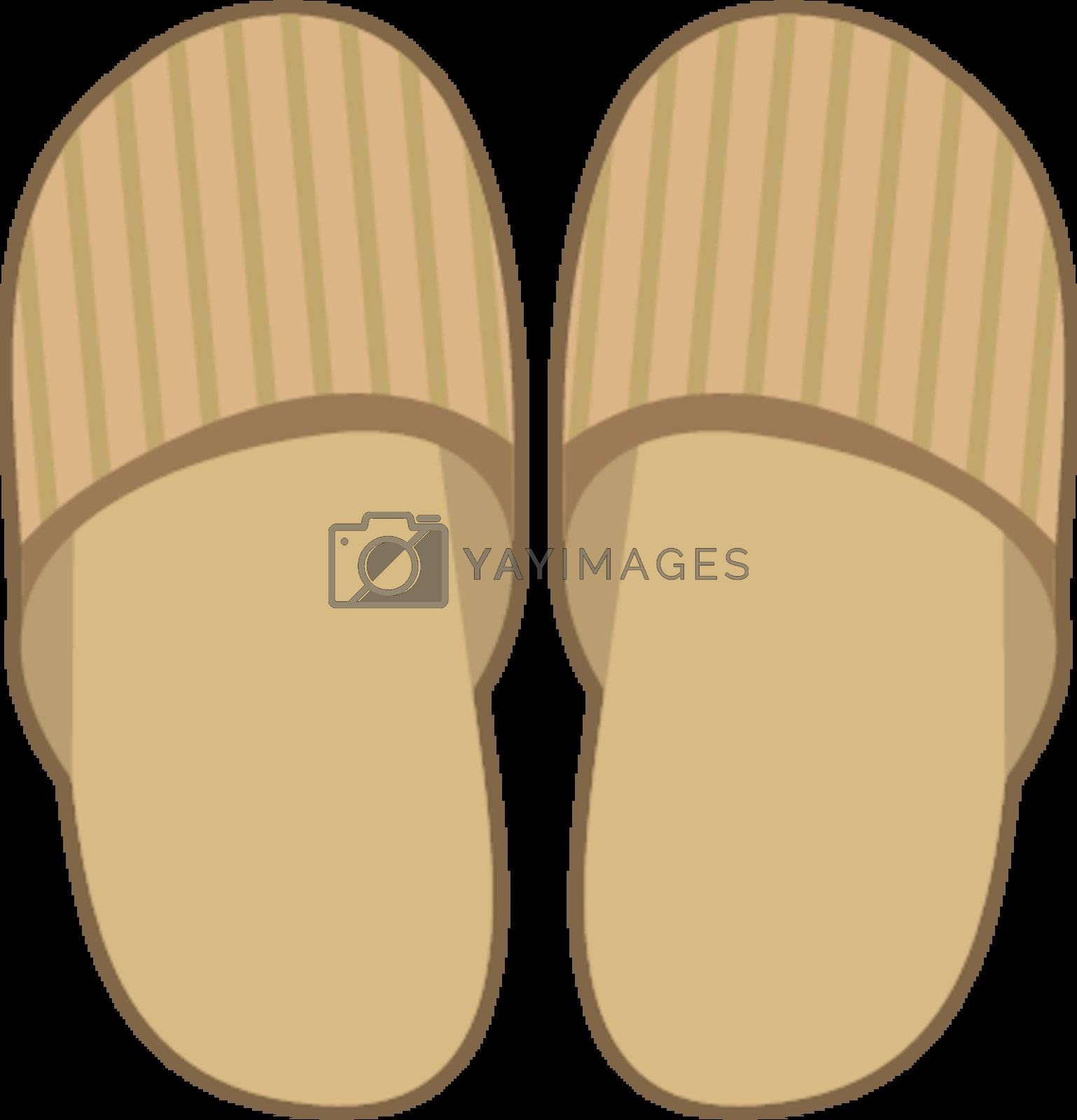 Royalty free image of Slippers by Perysty