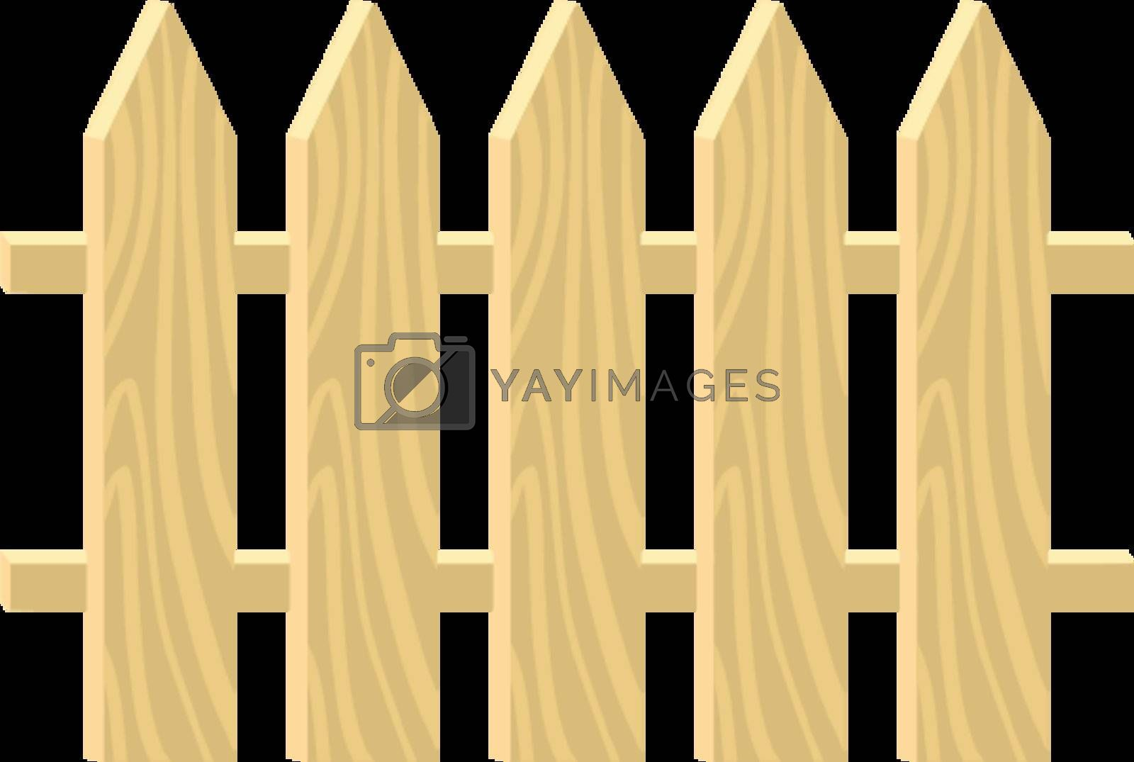 Royalty free image of Fence by Perysty