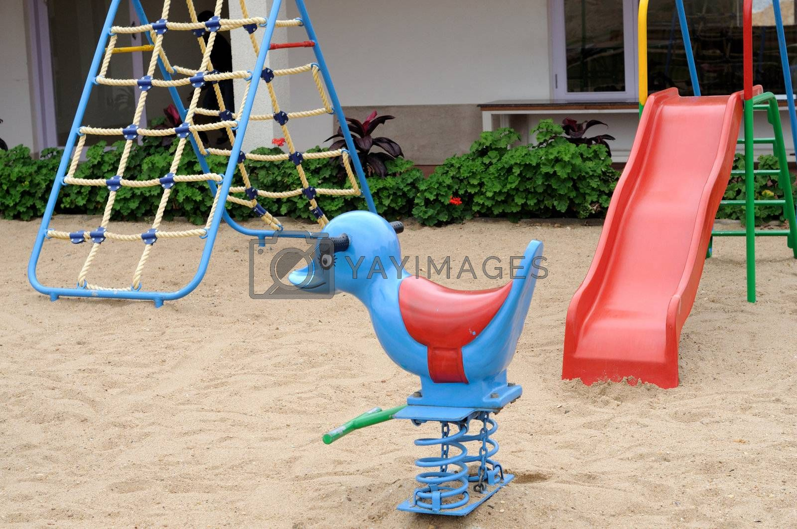Royalty free image of Play Area by pazham