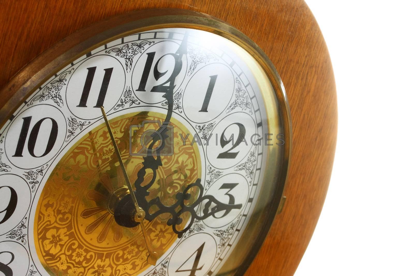 Clock at Three by Geoarts