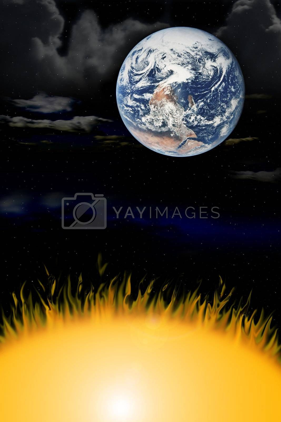 the three elements earth wind fire