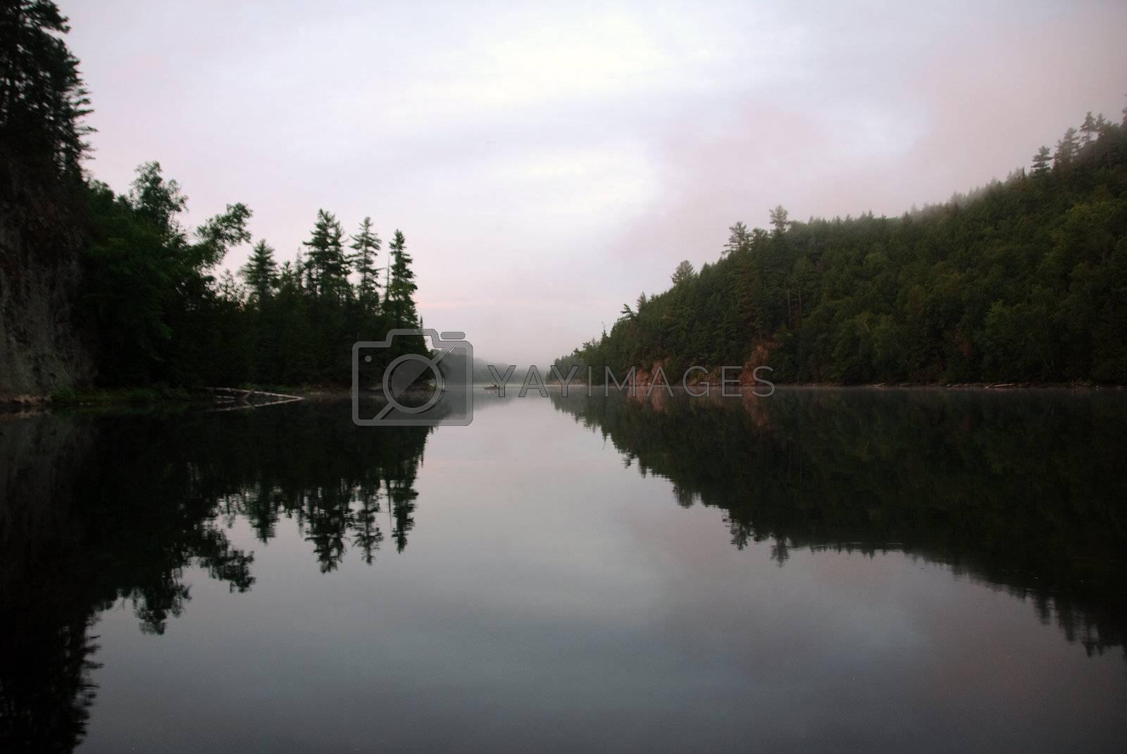 Royalty free image of Fishing lake by nialat