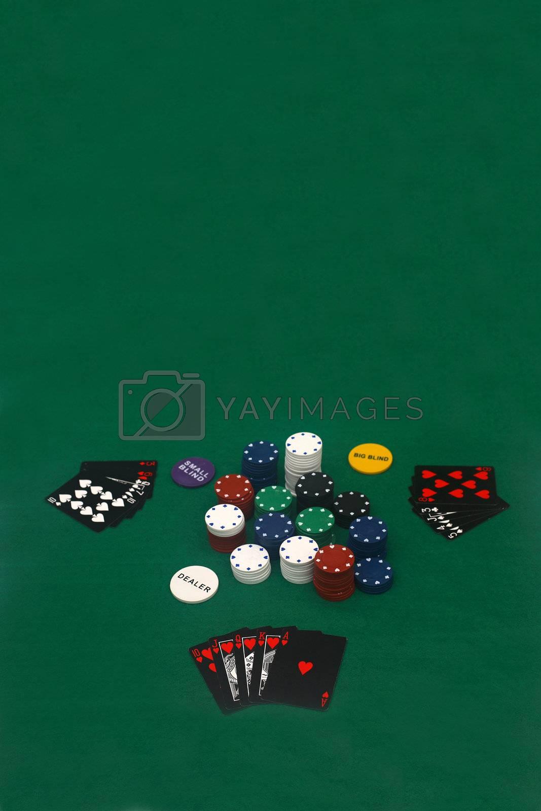 Poker Game by Daniel_Wiedemann