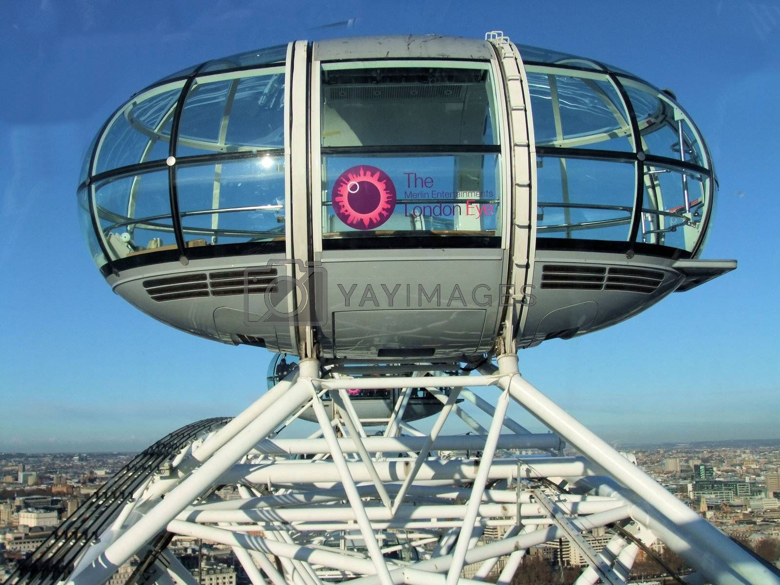 London eye capsule from another capsule
