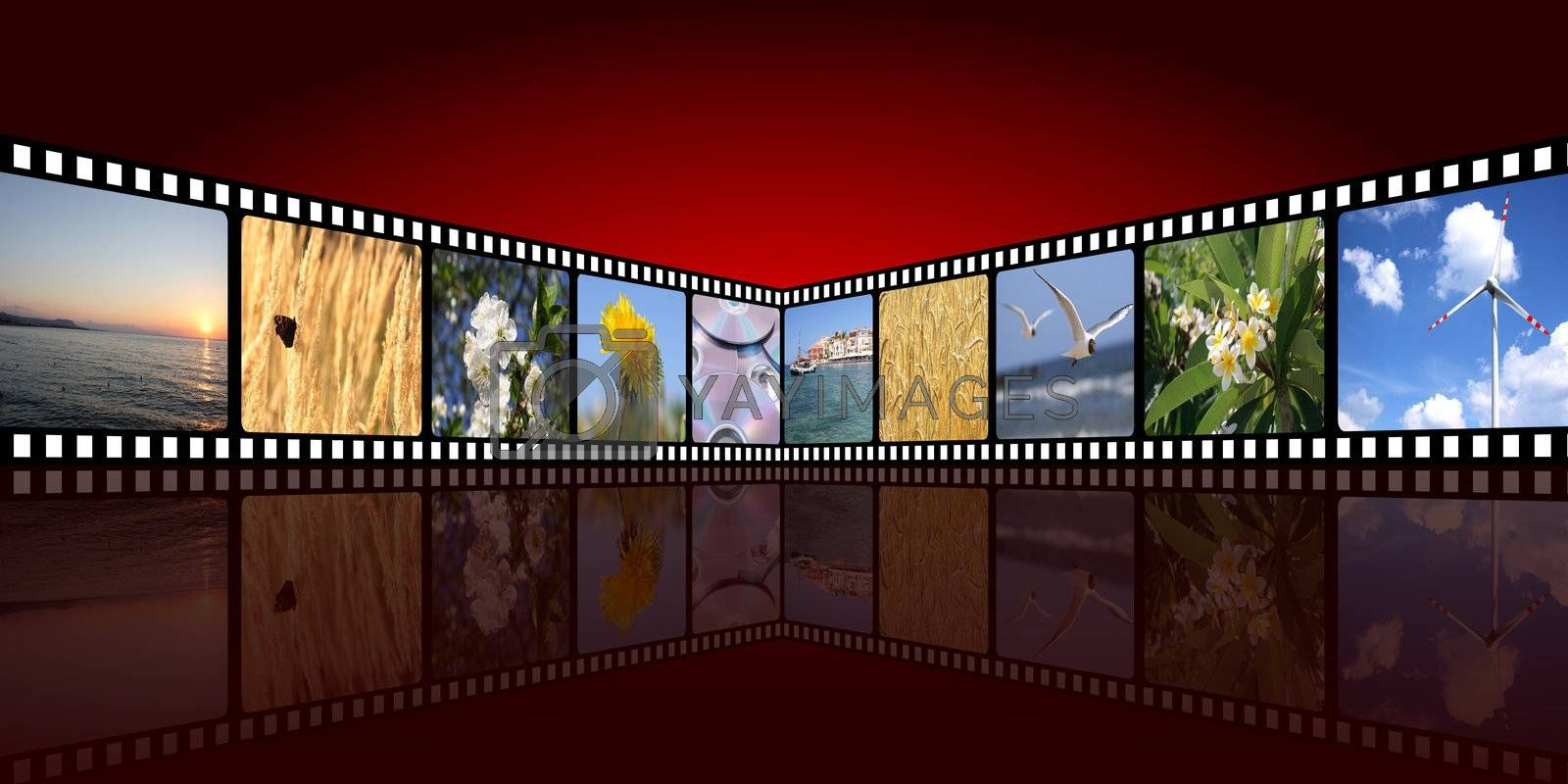 movie background