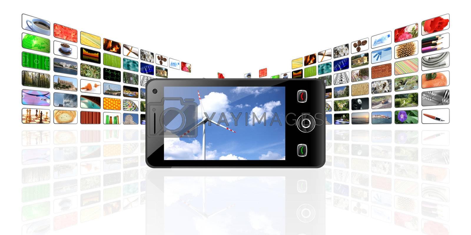 mobile phones gallery