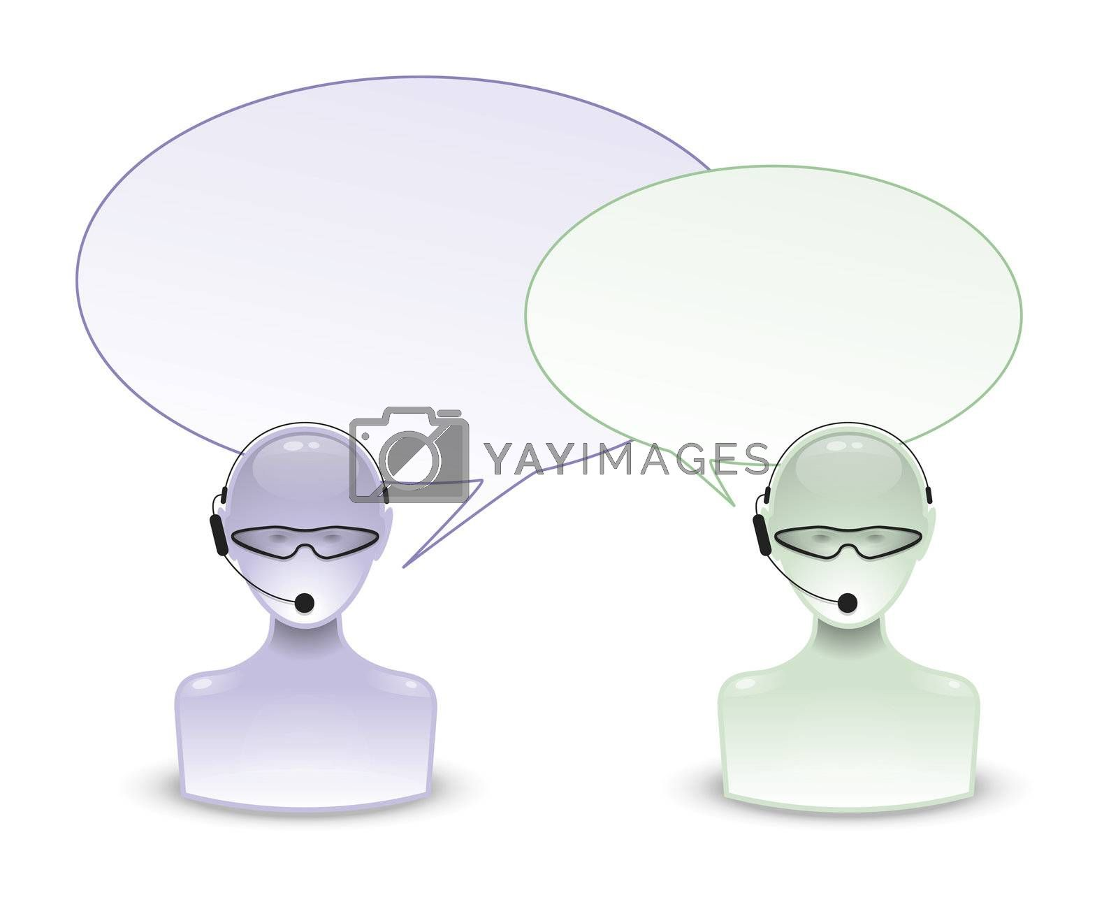 talking people icon by magann