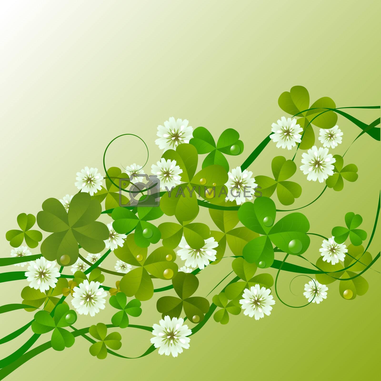 St. Patrick's Day design background